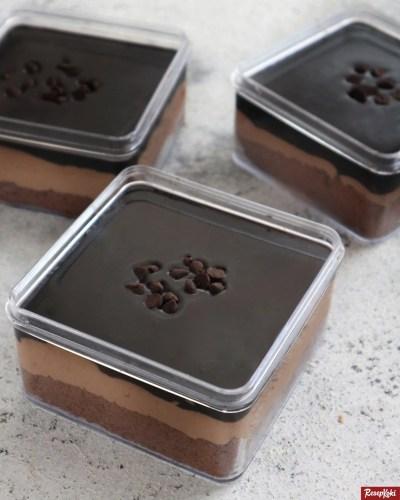 Gambar Hasil Membuat Resep Dessert Box Coklat