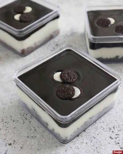 Gambar Hasil Membuat Resep Dessert Oreo Box