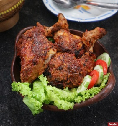 Gambar Hasil Membuat Resep Ayam Bakar Bumbu Rujak