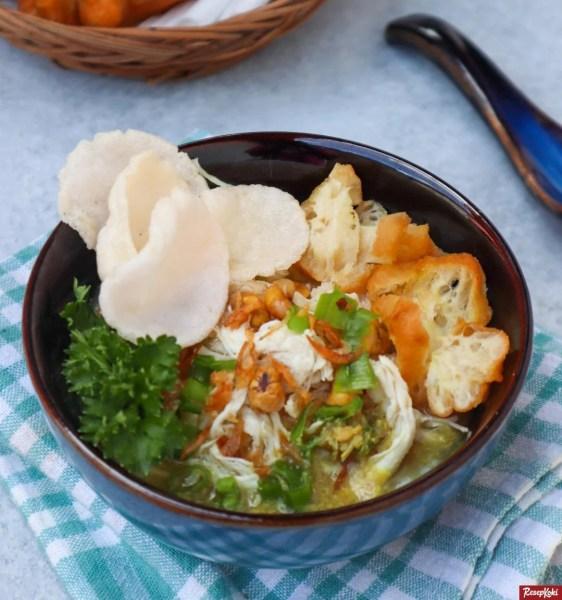Gambar Hasil Membuat Resep Bubur Ayam Cirebon