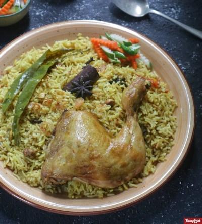 Gambar Hasil Membuat Resep Nasi Briyani Ayam