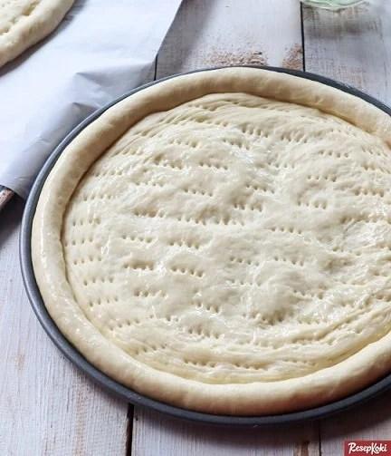Gambar Hasil Membuat Resep Pizza Dough