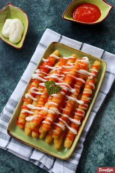 Gambar Hasil Membuat Resep Long Potato