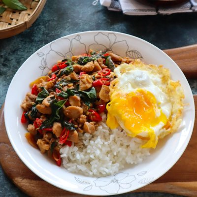 chicken basil thai wangi