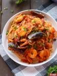 Resep Spaghetti Seafood Marinara