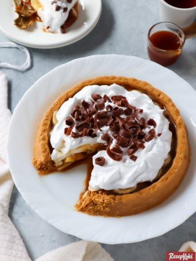 Gambar Hasil Membuat Resep Banoffee Pie