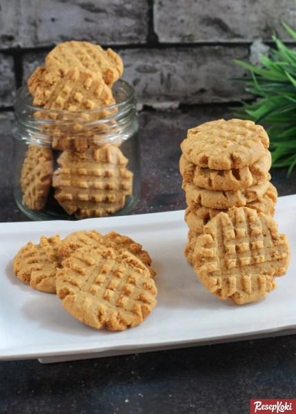 Gambar Hasil Membuat Resep Peanut Butter Cookies