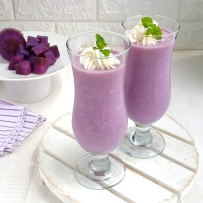 jus ubi ungu sederhana