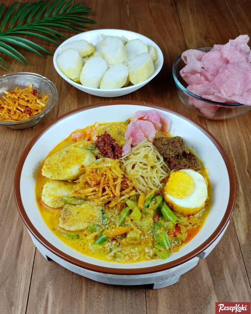 Resep Lontong Medan