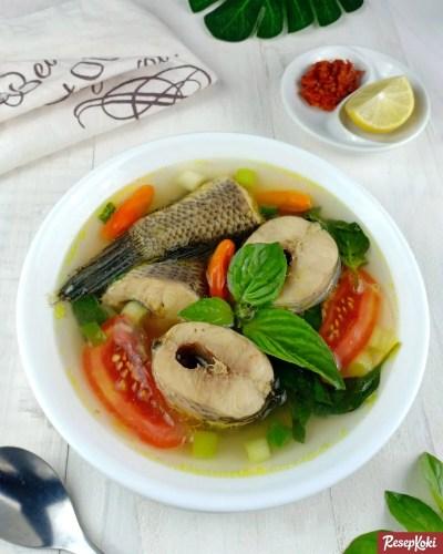 Gambar Hasil Membuat Resep Sup Ikan Gabus