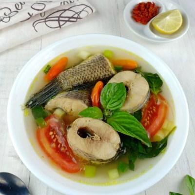 sup ikan gabus segar