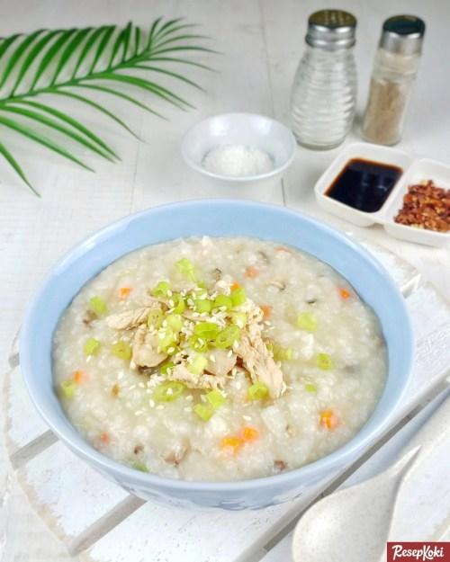 Gambar Hasil Membuat Resep Bubur Korea (Dakjuk)