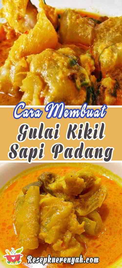 Bumbu Kikil Sapi : bumbu, kikil, Membuat, Gulai, Kikil, Padang, Sedap, Lezat