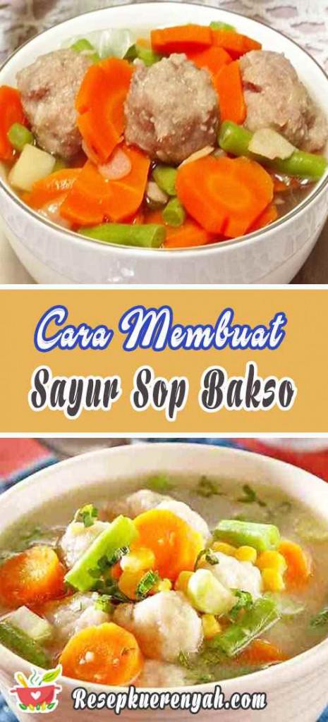 Resep Sayur Sop Yang Enak : resep, sayur, Resep, Sayur, Bakso, Nikmat