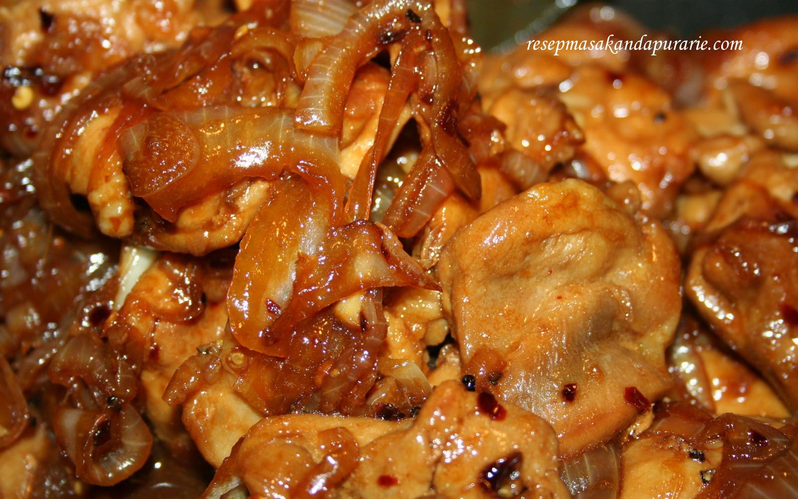 Resep Cara Membuat Ayam Kecap Enak Dan Mudah Resep Masakan Dapur Arie
