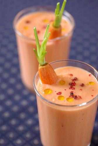 Resep Minuman Dari Sayuran : resep, minuman, sayuran, Resep, Minuman, Smoothie, Wortel
