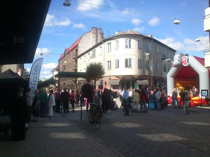 Invigning Rådhusgatan, Nässjö 2013