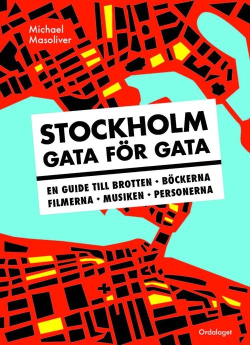 Omslagsbild för boken Stockholm gata för gata