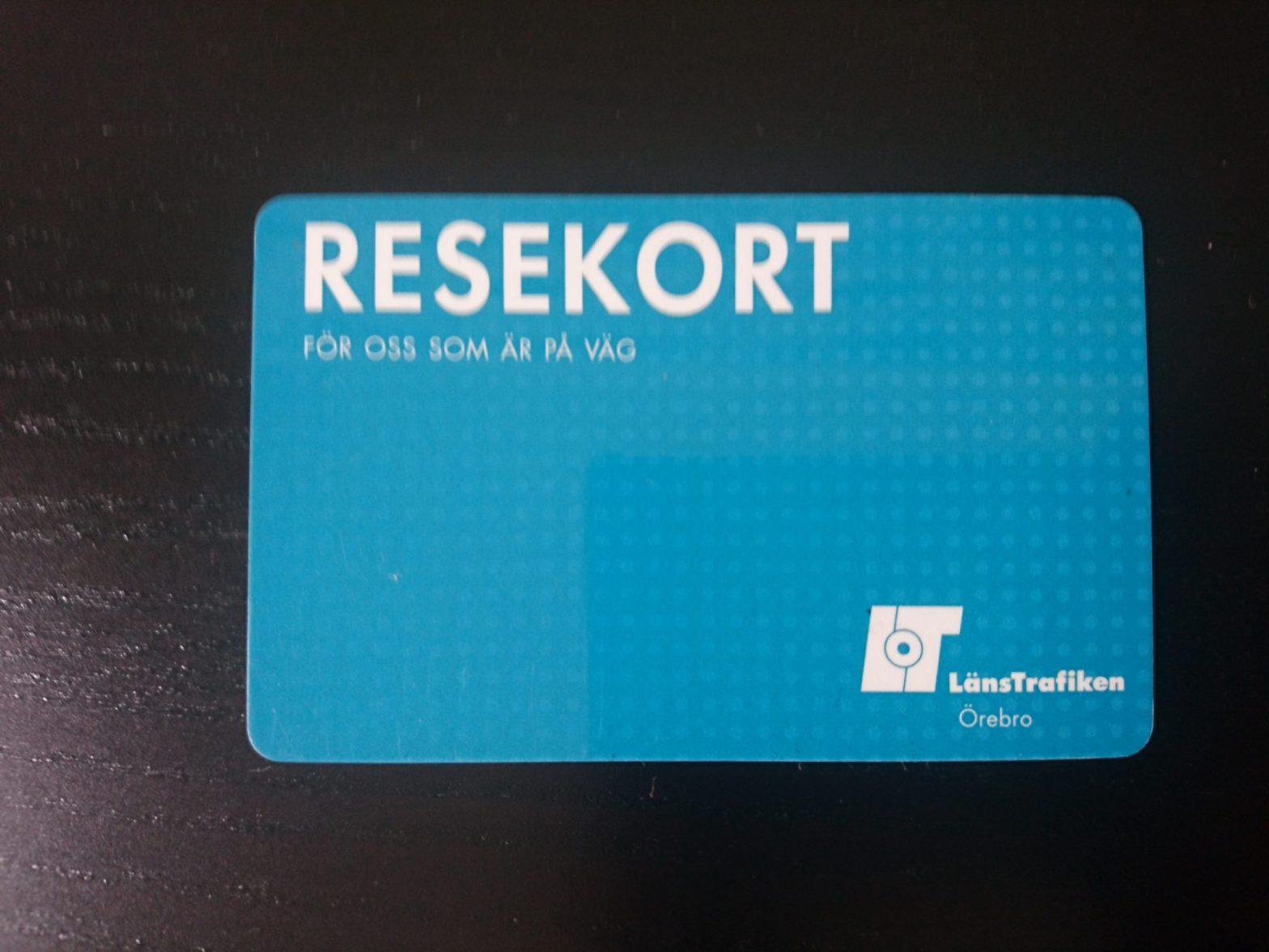 Resekort Örebro län