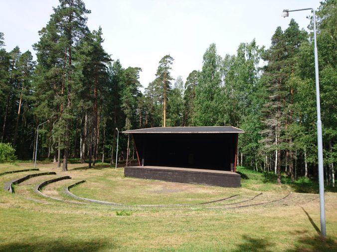 Teatern i Krokbornsparken Hällefors