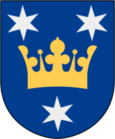Sigtuna vapen: Av Lokal_Profil, CC BY-SA 2.5, https://commons.wikimedia.org/w/index.php?curid=1544323