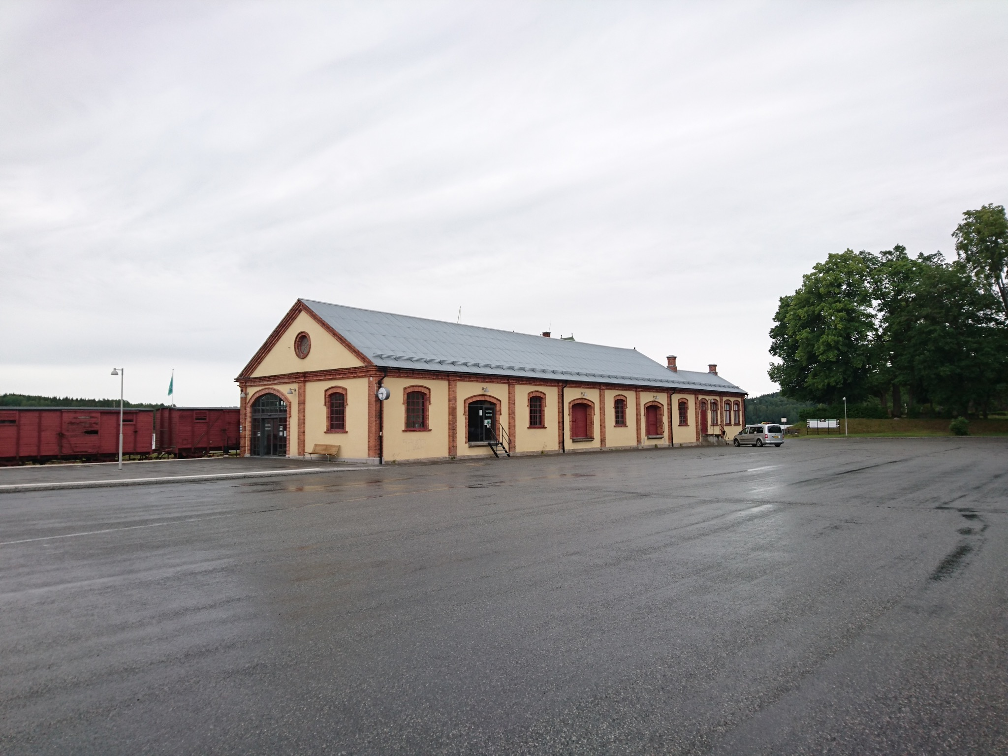 Nora station, museum