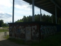 Graffiti under Dalbobron