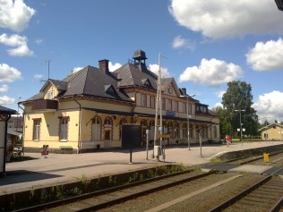 Hultsfred station