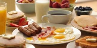 banyak pilihan untuk menu sarapan