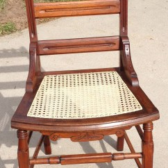 Ladder Back Cane Seat Dining Chairs Room Set With Accent Antique Seats Furniture
