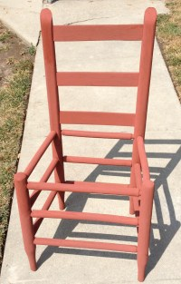Reimagined Antique Ladder Back Chairs  reserchnrestorys
