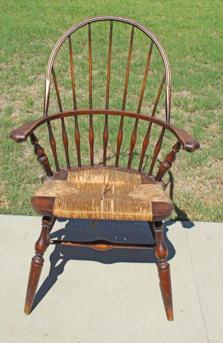 Fiber Rush Seat Weaving