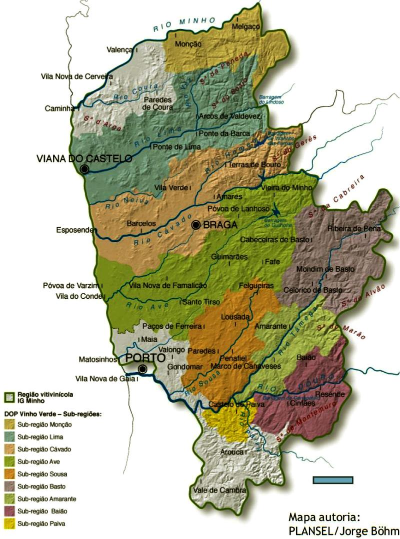 Região dos Vinhos Verdes   Reserva85 - Tudo sobre o vinho!