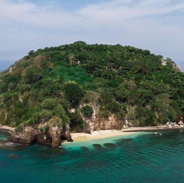 Isla del coral Nayarit
