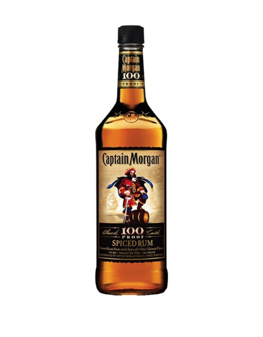 Captain Morgan Black Cask 100 Proof Spiced Rum  Buy