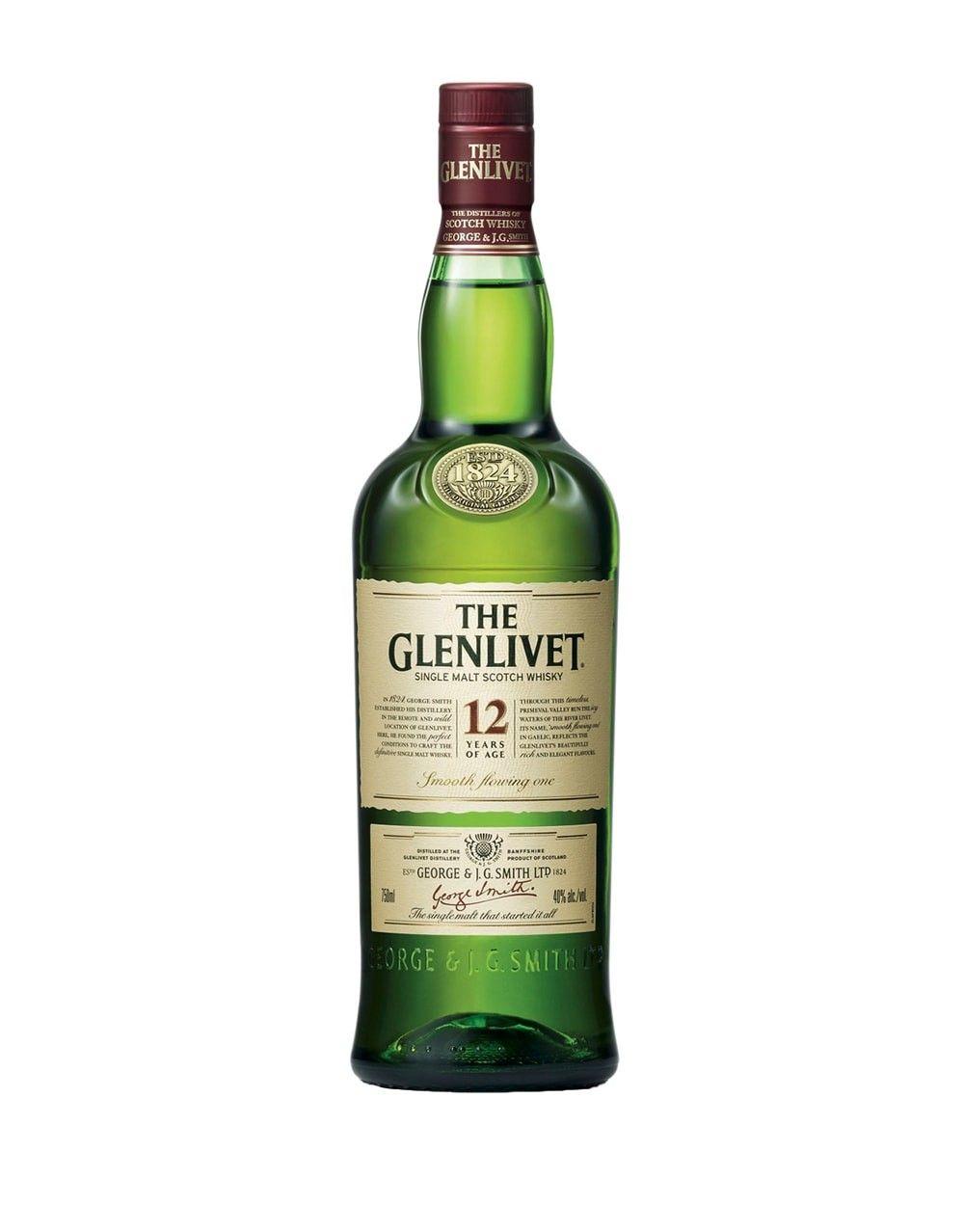 The Glenlivet 12 Year Old Scotch Whisky Buy Online Or