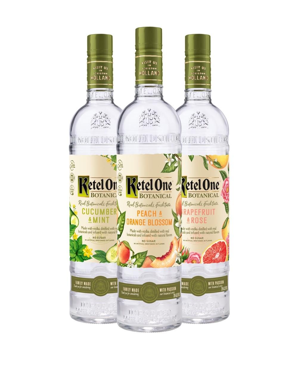 Ketel One Botanical Collection 3 Bottles  Buy Online or