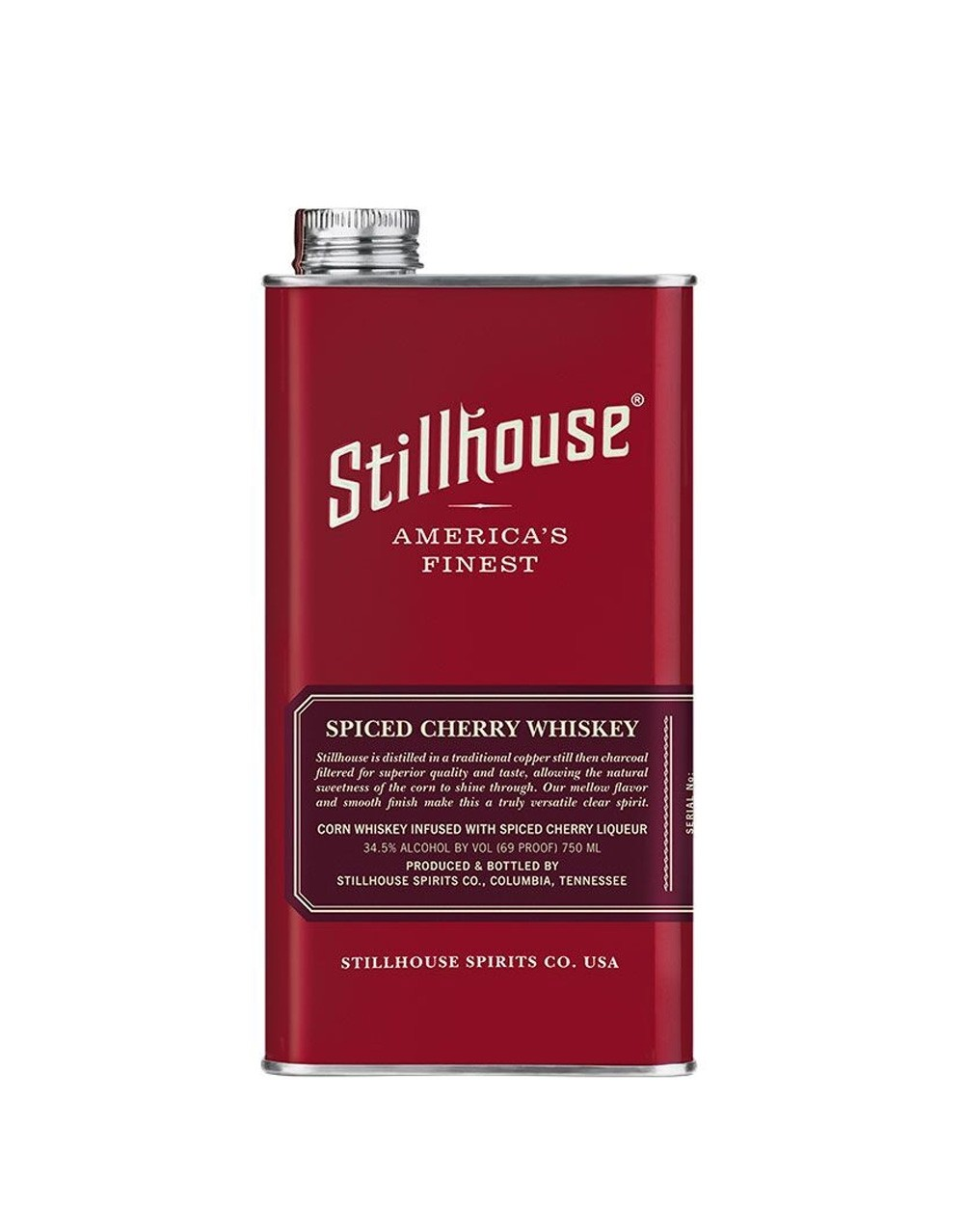 Stillhouse Spiced Cherry Whiskey  Buy Online or Send as a