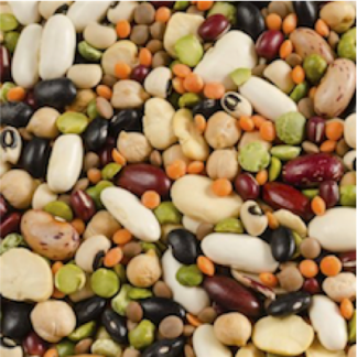 Céréales, Légumes secs, Graines