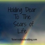 Holding Dear To My Scars