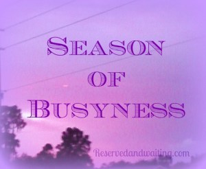 busyness