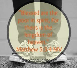 poor in spirit