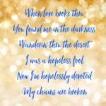 When Love Broke Thru - Relentless