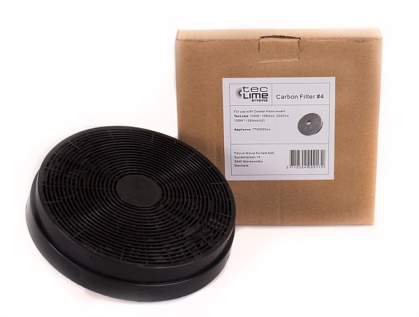 Teclime Carbon Filter #4-0