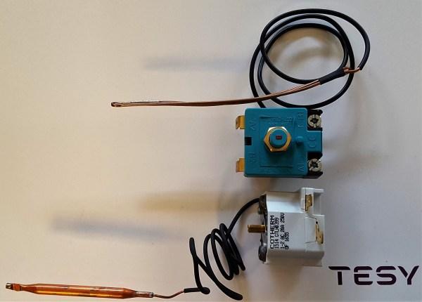 Termostat og termosikring -0
