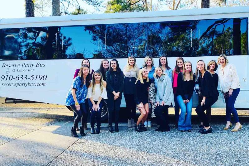 Bachelorette Party Limo Rental Raleigh NC