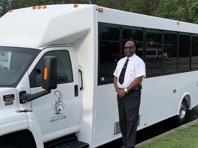 Clayton NC Party Bus Driver