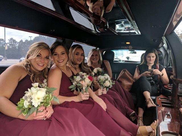 Clayton NC Wedding Transport