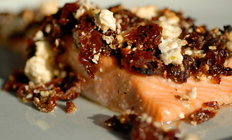 Salmon with SunDried Tomatoes RESERVE YOURSELF
