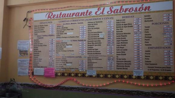 Panamanian Restaurant
